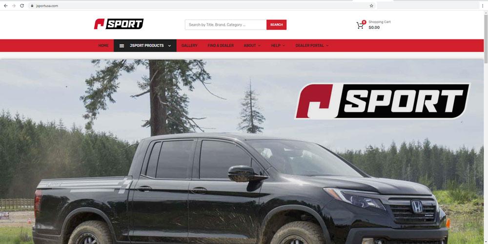 Jsport USA Website